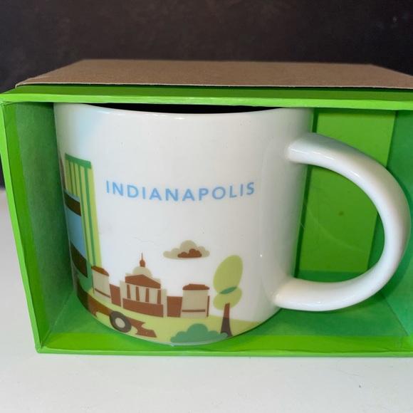 Starbucks Indianapolis You are Here Mug BNIB
